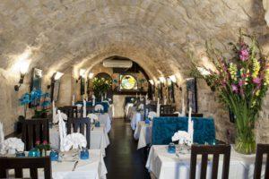 Cave voûtée restaurant groupe Paris 5e