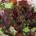 Salade de gesiers restaurant groupe Paris